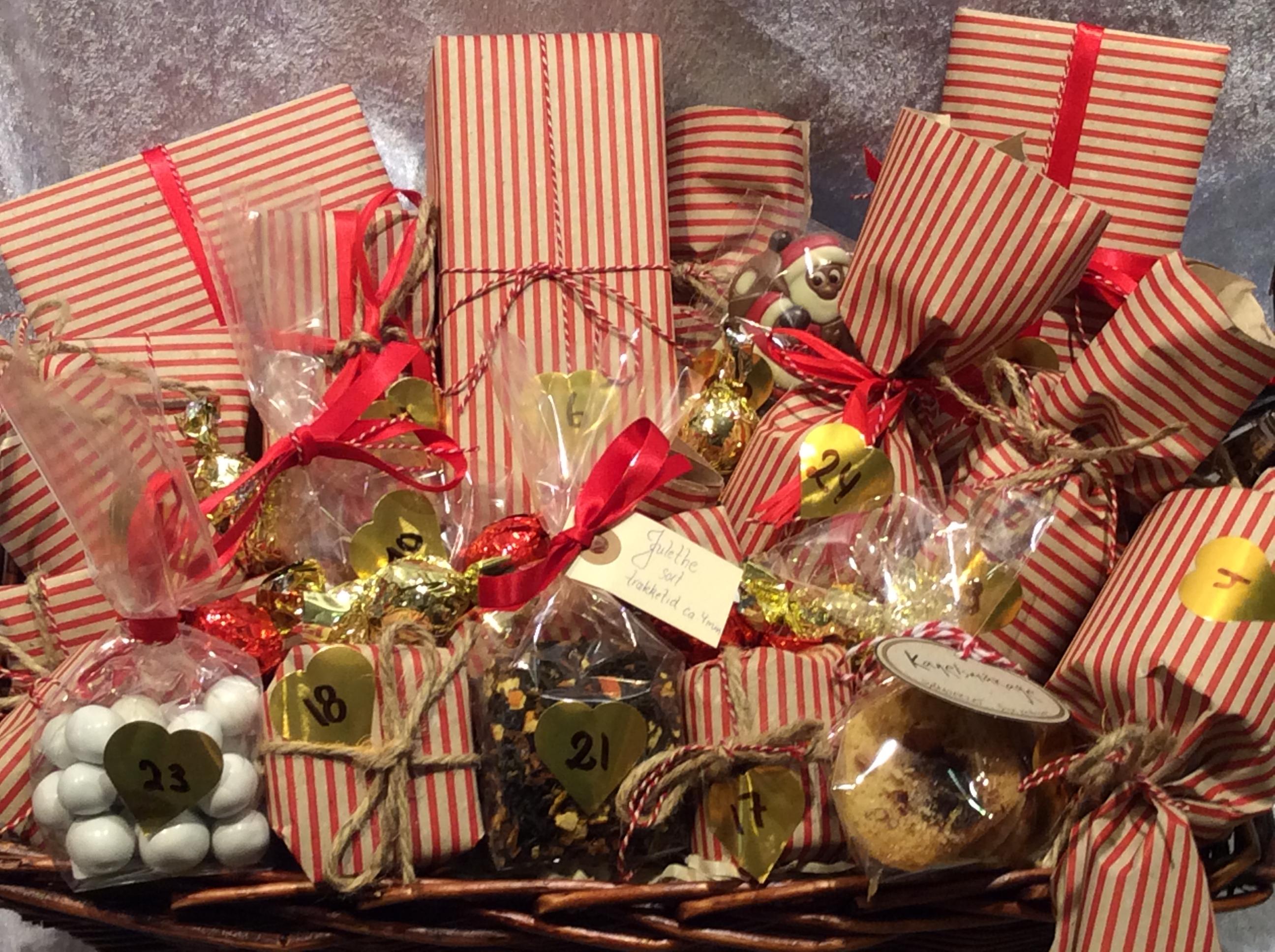 julekalender med gaver