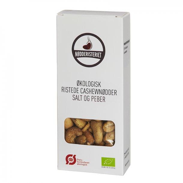 Cashewnødder - Økologiske med salt og peber.