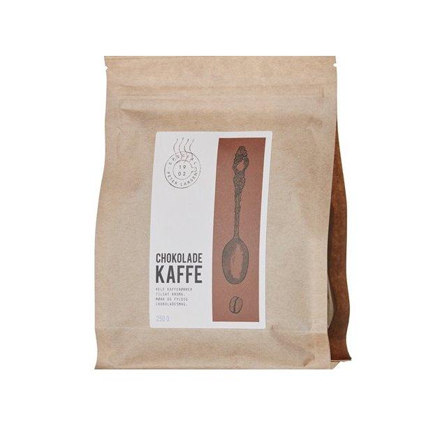 Chokoladekaffe og Sødt. 5 søde produkter i gaven.