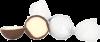 Mælkechokolade med kokos